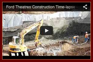 Time lapse movie of construction on Ford Theaters Project