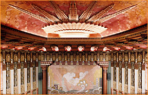 Restored theater facing stage