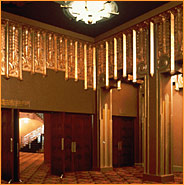 Theater foyer
